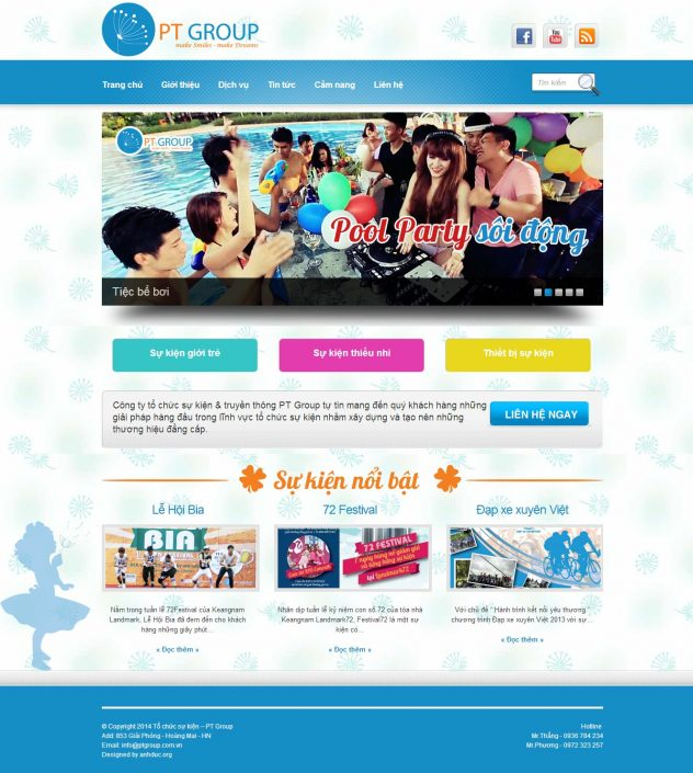 Thiet ke website ptgroup