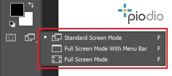 Screen-mode-photoshop-piodio